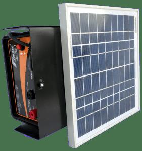 Boyero/Electrificador Solar de Alambrados FIASA® con batería incluída SE 400 C PLUS – 40 K – 1,25 J – 218400500