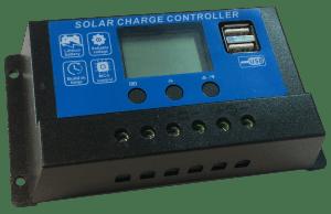 Regulador de Carga para Paneles Solares FIASA® 12/24 V – 20 A. 220100113