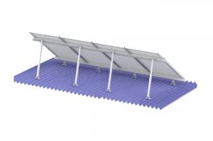 Soporte para techo, inclinación regulable, para 4 Paneles Solares FIASA® de 300/335W 220900105
