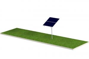 Soporte para Panel Solar FIASA® para Piso Tipo Monoposte 220900170
