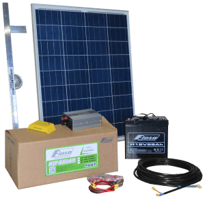 KIT SOLAR FIASA® N°1 300W H/DÍA ENERGÍA SOLAR 230300020