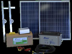 KIT SOLAR FIASA® N°2 600W H/DÍA ENERGÍA SOLAR 230300030