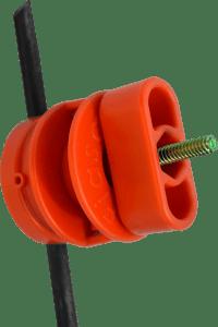 Aislador Carretel con Gancho y Mariposa x 300 unidades Accesorios FIASA® para Alambrados Eléctricos 218900007ML