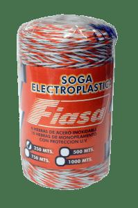 Electro Piolín 6h 500 mts x 6 unidades Accesorios FIASA® para Alambrados Eléctricos 218900101ML