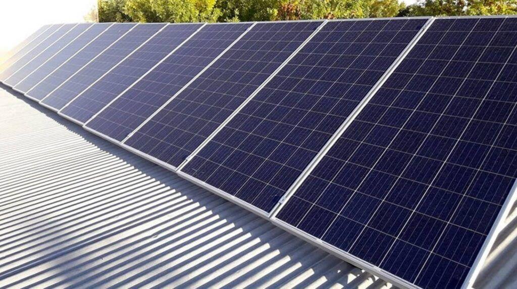 panel solar para techo casa