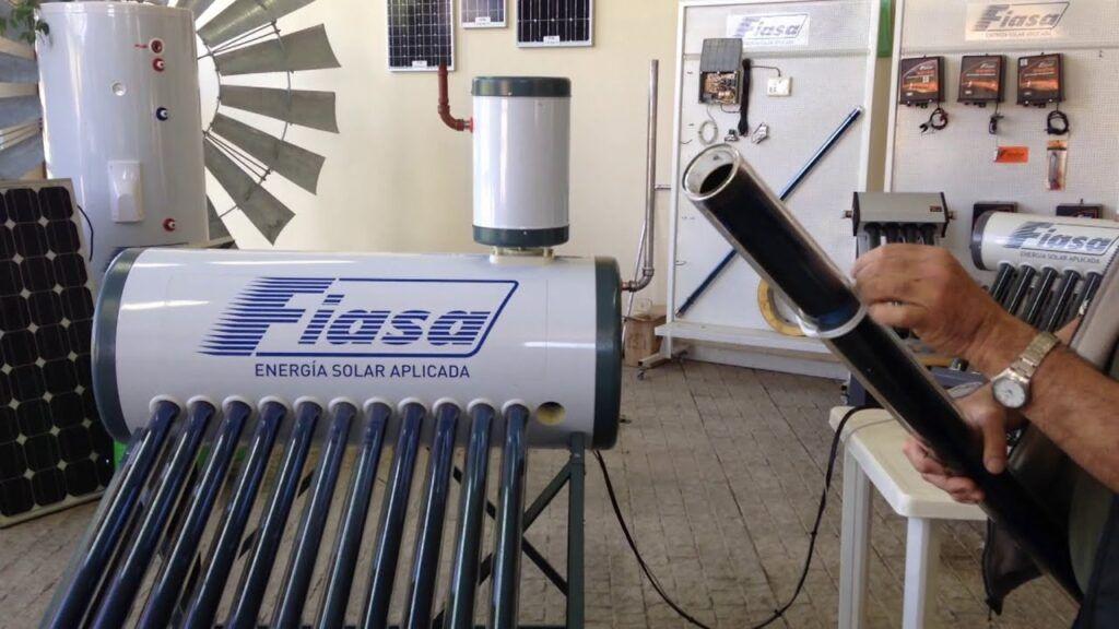 tubos de vacio termotanque solar