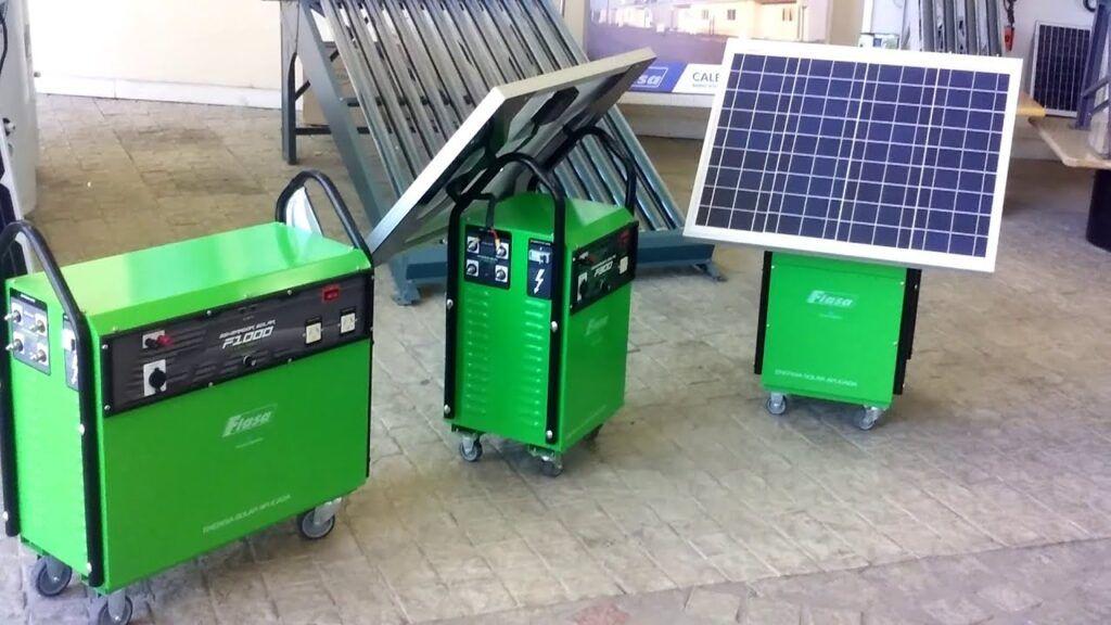 Fiasa generadores solares autonomos