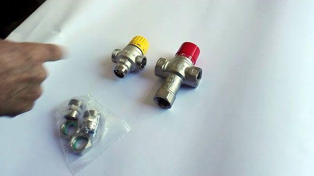 comparativa de valvulas mezcladoras